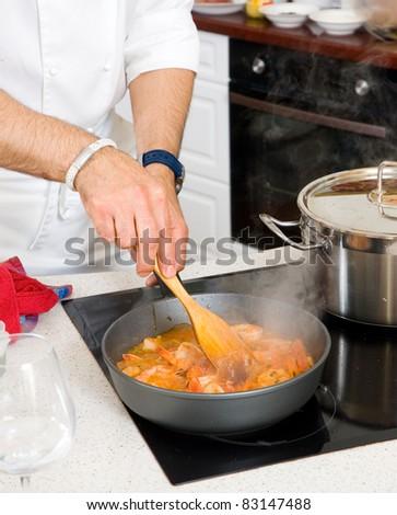 chef preparing food #83147488