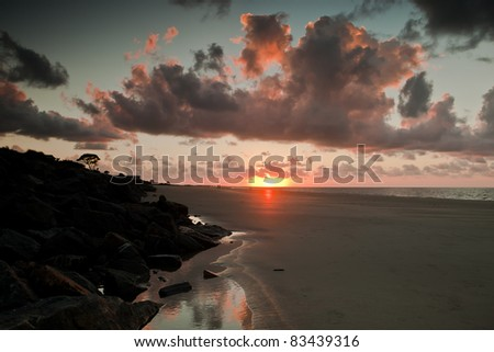 Sunrise of the Beach #83439316