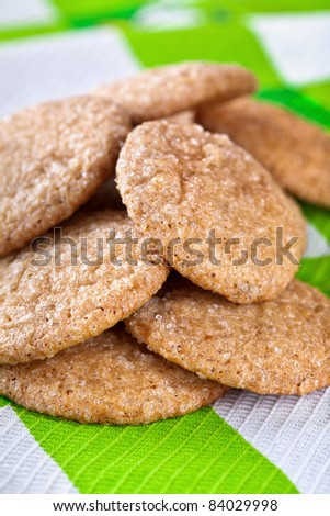 Homemade gingerbread cookies #84029998