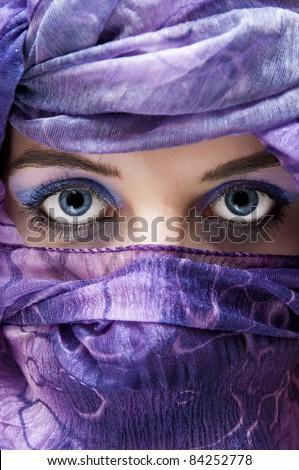An image of arabian hidden face #84252778