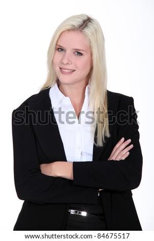 portrait of a businesswoman #84675517