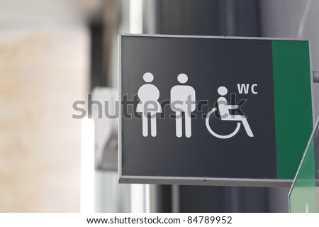 a public toilet with disabled access