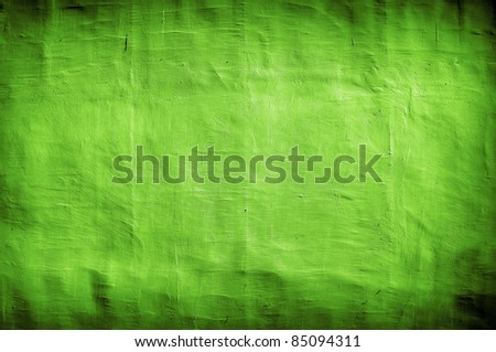 grungy green vintage background with artistic shadows added #85094311