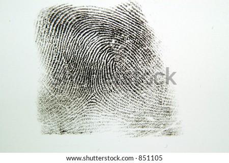 Fingerprint. #851105