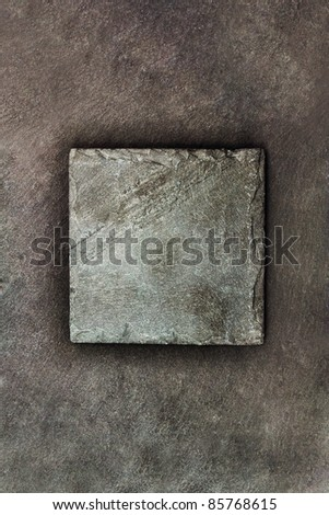 Black decorative stone background. #85768615