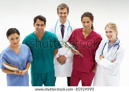 Group of medical professionals #85924990