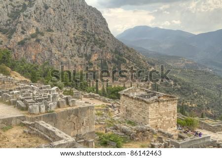 Delphi Greece #86142463