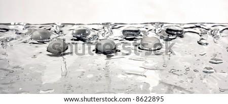 zen glass pebble composition #8622895