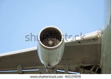 Turbine of airplane #86529898