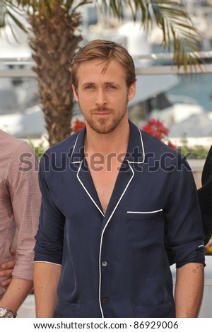 """Ryan Gosling at the photocall for his new movie """"Drive"""" in competition at the 64th Festival de Cannes. May 20, 2011  Cannes, France Picture: Paul Smith / Featureflash #86929006"""