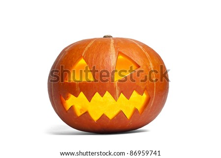 Halloween pumpking #86959741