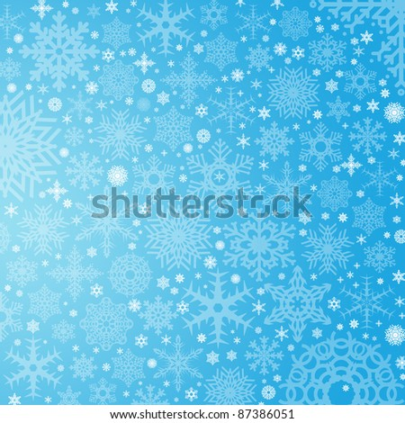 beautiful color high-res illustration with a holiday winter subject