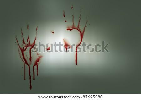 Bloody hands #87695980