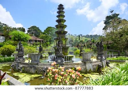 Royal Pools Tirthagangga, Bali island, Indonesia #87777883