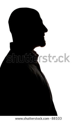 man shadow profile #88103