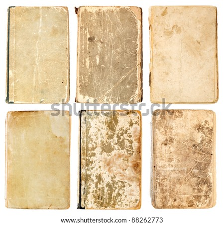 old books isolated on white background #88262773