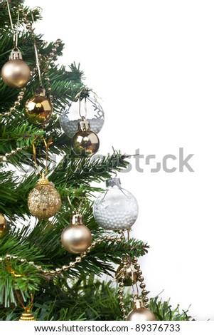 Decorated Christmas Tree #89376733
