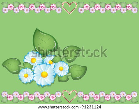 floral  illustration Valentine's Day #91231124