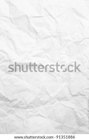 crumpled paper #91351886