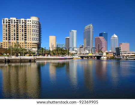 skyline of tampa, florida