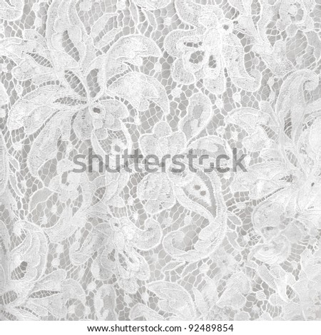 Wedding white lace background #92489854