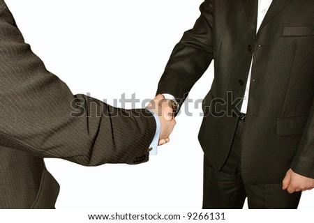 handshake on a white background #9266131