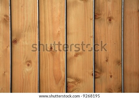 Wooden panels with steel inserts - for use as a background #9268195
