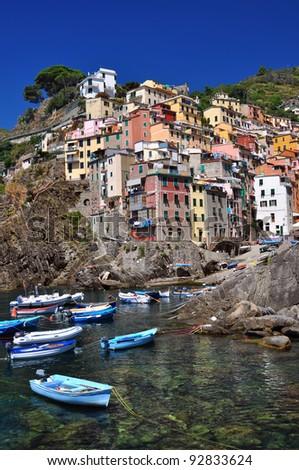 Riomaggiore, Cinque Terre, Italy #92833624