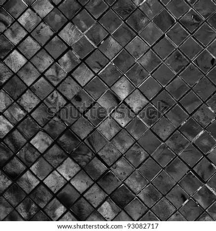Dark Tiled Background #93082717