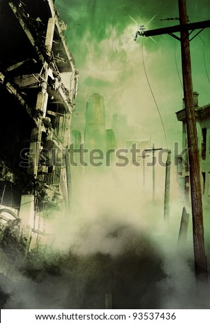 end of the world Royalty-Free Stock Photo #93537436
