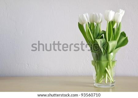 White Tulips #93560710