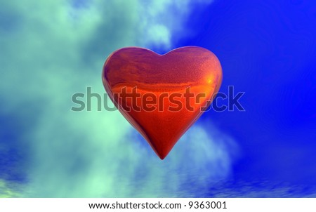 Heart in the cloud