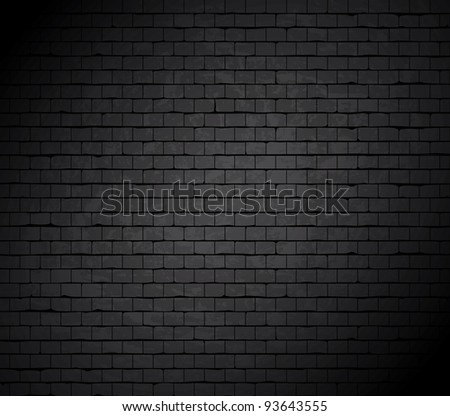Grunge brick wall. Vector background. #93643555
