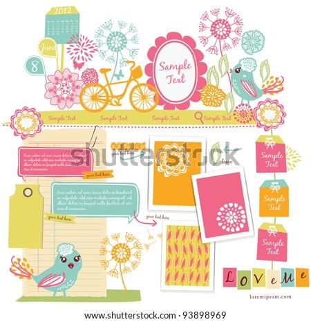 Cute scrapbook elements (15)