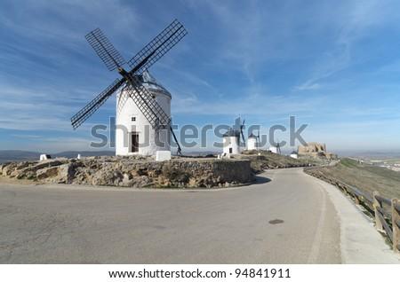 windmills in Consuegra, Toledo, Castilla La Mancha, Spain #94841911