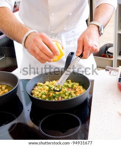 chef preparing food #94931677