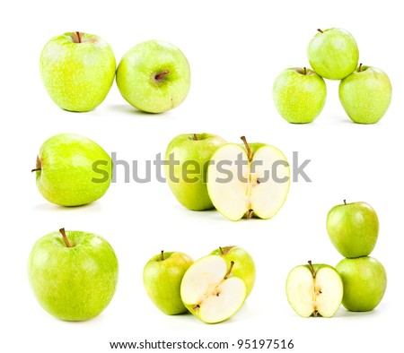 apples isolated on white #95197516