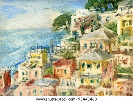 Riomaggiore, Cinque Terre, Italy. #95445463