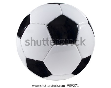 Isolated Picture of a soccer ball