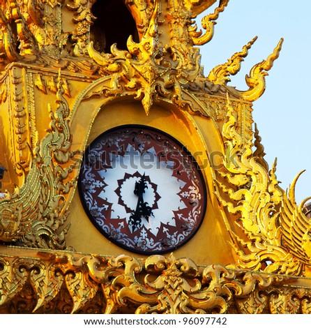 clock in Chiangrai,Thailand #96097742