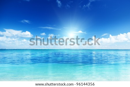 ocean and perfect sky #96144356
