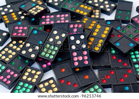 Black Dominos #96213746