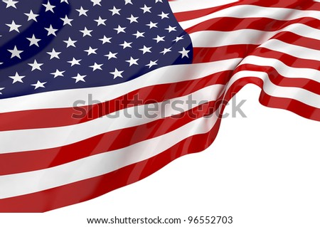 Vector Flags of America #96552703