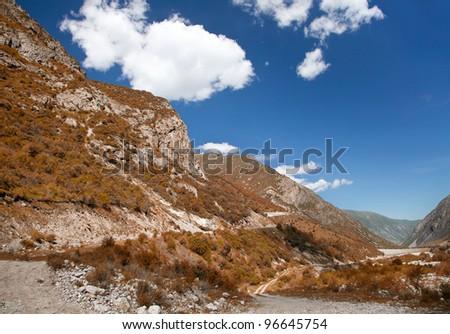 Mountain landscape. Belagorka Gorge, Kyrgyzstan #96645754