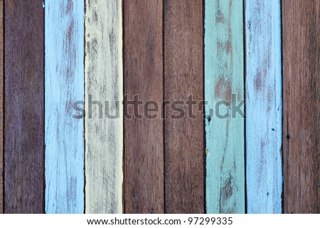 colorful wood background. #97299335