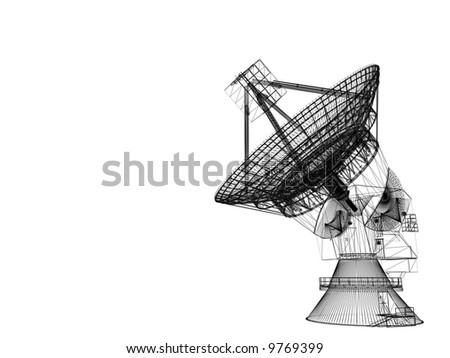 Satellite dish #9769399