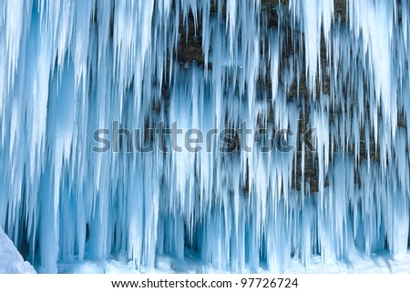 Icicles Royalty-Free Stock Photo #97726724