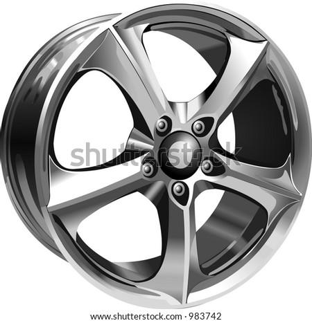 Steel Wheel #983742