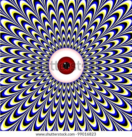 Red Eye  (motion illusion)