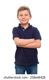an image of adorable young happy boy looking at camera.